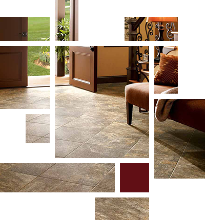 Porcelain, Ceramic & Natural Tile Floors